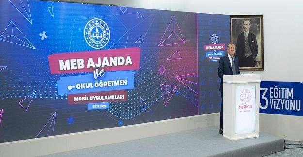 """Bakan Ziya Selçuk açıkladı """"Öğretmenlerimiz kısa süre içinde bu uygulama yoklama alabilecek"""""""