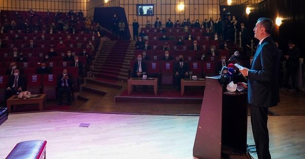 Bakan Ziya Selçuk: Eğitim bir millet ödevi ve hepimizin ortak paydasıdır.