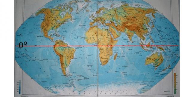 Dünyamızı ortadan ikiye ayıran paralelin adı nedir?