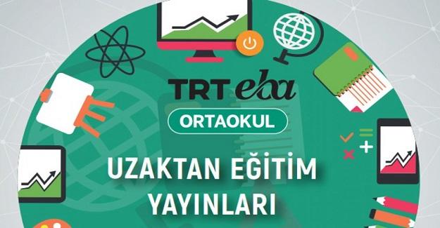 EBA TV Uzaktan Eğitim Yayınları (Ortaokul)