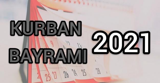 Kurban Bayramı ne zaman 2021? Kurban Bayramı 2021 hangi güne denk geliyor?