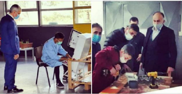 Meslek Liseleri Pandemi Döneminde Üretmeye Devam Ediyor