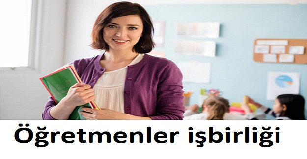 Okul idaresi koordinesinde tüm öğretmenler işbirliği ile belirtilen çalışmalar