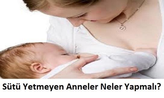 Sütü Yetmeyen Anneler Neler Yapmalı? Meme Yarasına İyi Gelen Şeyler?
