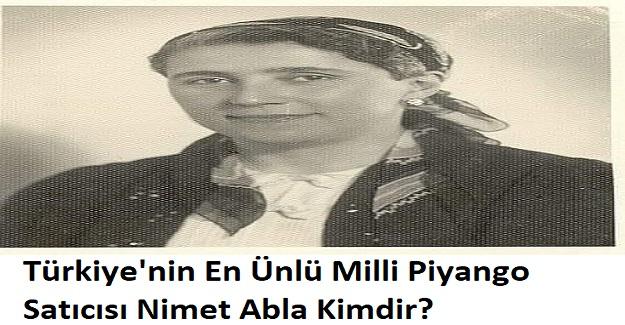 Türkiye'nin En Ünlü Milli Piyango Satıcısı Nimet Abla Kimdir?