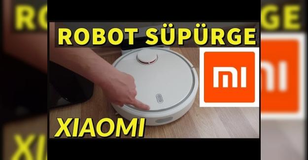 Xiaomi Mi Akıllı Robot Süpürge Türkçe Kullanım Kılavuzu