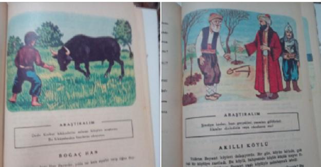 1980-1985 Arası Okullardaki Türkçe Ders Kitabı