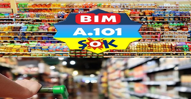 A 101, BİM ve ŞOK Marketlerin Çalışma Saatleri?