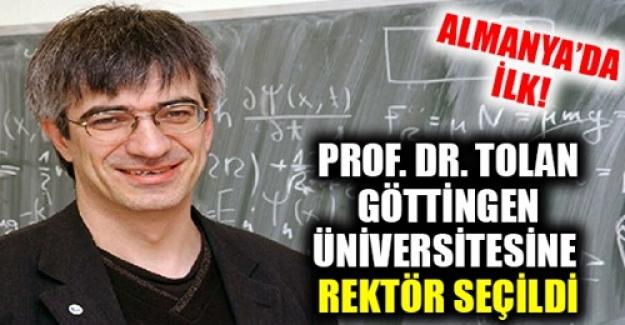 Almanya Göttingen Üniversitesinde İlk Kez Bir Türk Rektör Seçildi
