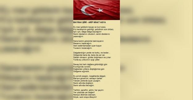 Bayrak Şiirleri - Bayrakla İlgili Duygulu Şiirler