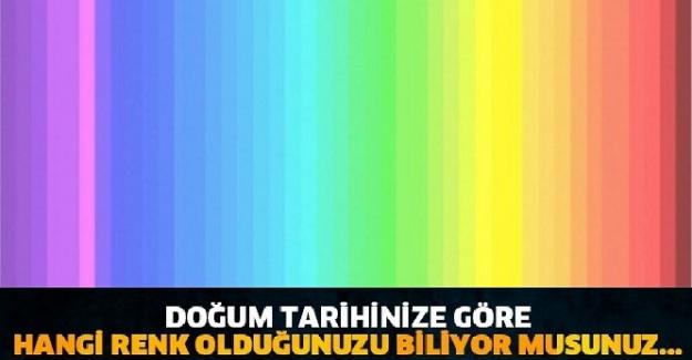 Doğum Tarihinize Göre Renginizi Bulun! Renkler Kişiliğiniz Hakkında Neler Söylüyor?