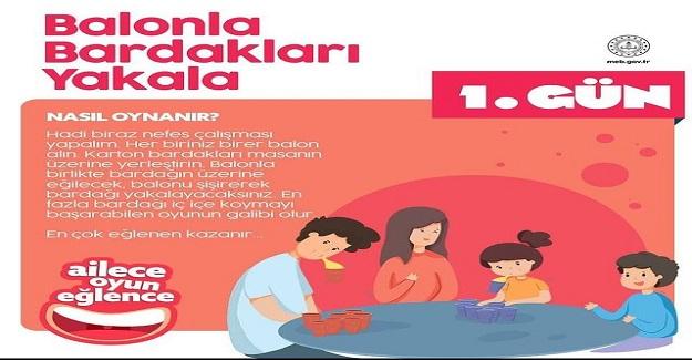 MEB'den Ailelere ve Çocukları İçin Oyun Önerisi