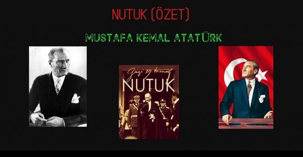NUTUK - Mustafa Kemal ATATÜRK Kitap Özeti