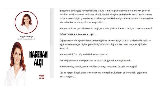 """""""ÖĞRETMENLER RAHATA ALIŞTI"""" GİBİ BİR SAÇMALIKLA TANIMLAMAYACAKSINIZ"""