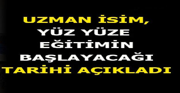 Okulların Ne Zaman Yüz Yüze Eğitime Geçeceğini Prof. Dr. Mustafa Necmi İlhan Açıkladı