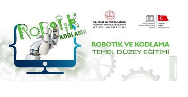 Robotik ve Kodlama Temel Düzey Eğitimi Kursu Öğretmenlerimizin Başvurusuna Açıldı