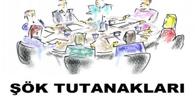 Şube Rehber Öğretmenler ŞÖK Toplantı Tutanağı İNDİR