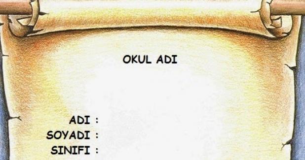 Türkçe Dersi Proje Ödevi Ve Performans Ödevleri