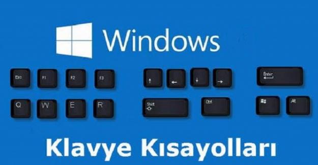 Windows Klavye Kısayol Tuşları Listesi !