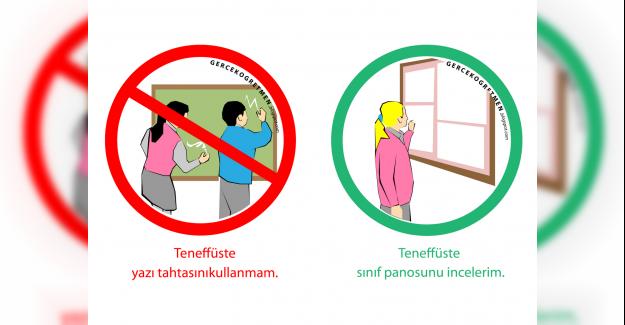 1. Sınıf Sınıf Kuralları Resimli