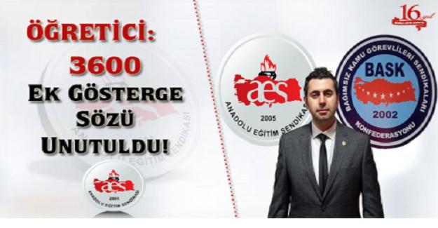 3600 EK GÖSTERGE SÖZÜ UNUTULDU!