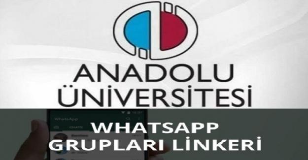 Açıköğretim Fakültesi AÖF Bütün Bölümlerin Whatsapp Grupları