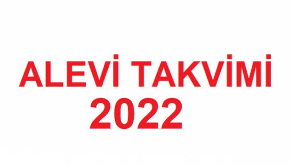 ALEVİ TAKVİMİ 2022
