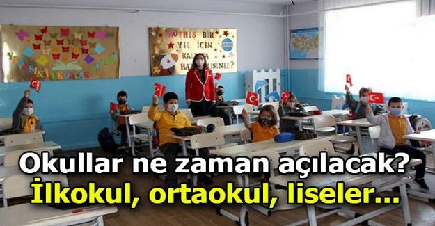Bakan Selçuk'tan yüz yüze eğitim açıklaması