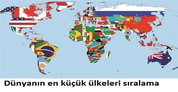 Dünyanın En Küçük Ülkeleri