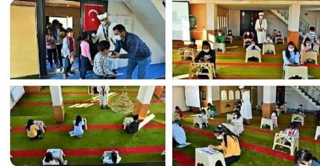 Evlerinde İnternet Olmayan Çocuklar EBA'ya Bağlansın Diye Camiye İnternet Bağlattı