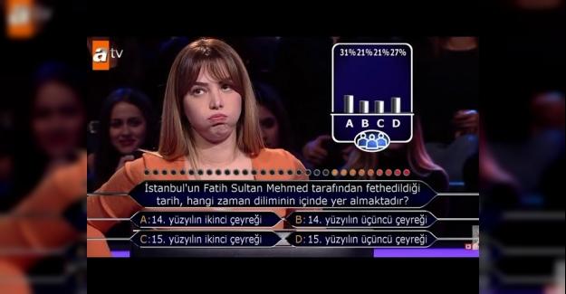 İstanbul'un Fatih Sultan Mehmet tarafından fethedildiği tarih hangi zaman diliminde yer almaktadır?