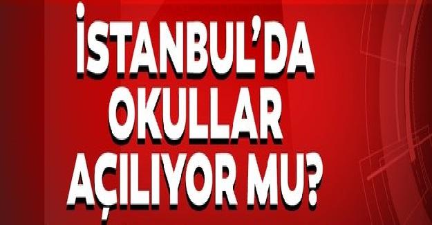 İstanbul Valiliğinden Okulların Açılışına Dair Basın Açıklaması