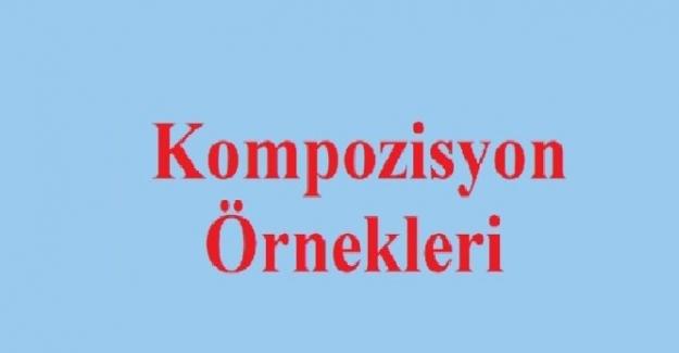 KOMPOZİSYON ÖRNEKLERİ 2021