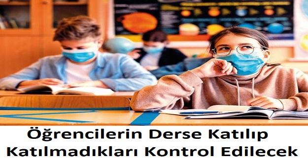 Milli Eğitim Bakanlığı Öğrencilerin Derse Katılıp Katılmadıklarını Kontrol Edecek
