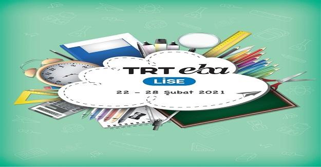 TRT EBA TV 22-28 Şubat Yayınları
