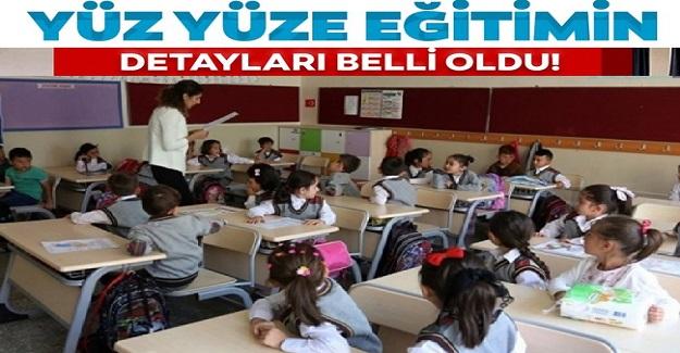 Yüz Yüze Eğitime Dair Detaylar. MEB İlkokul ve Ortaokullarda Eğitimin Usul ve Esaslarını Belirledi