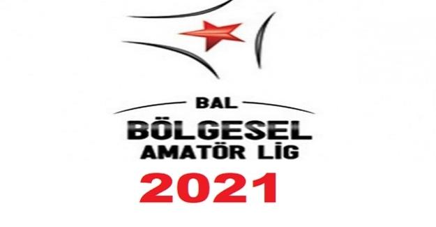 2020-21 Sezonunda Bölgesel Amatör Ligde Yer Alacak Takımların Listesi