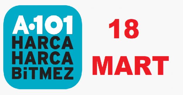 A101 18 MART 2021 PERŞEMBE AKTÜEL ÜRÜNLER KATALOĞU