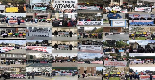 Atama Bekleyen Öğretmenler Ek 40 Bin Atama İstiyor