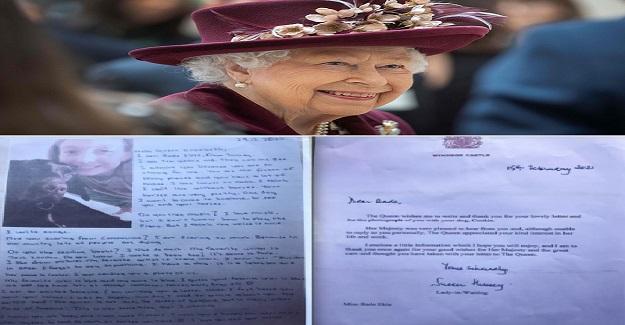 Aydın'da 5. Sınıf Öğrencisi Kraliçe Elizabeth'e Mektup Yazdı, Saraydan Bakın Nasıl Yanıt Aldı