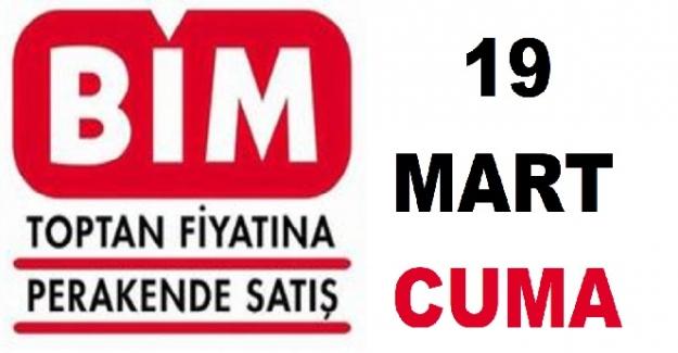 BİM Aktüel 19 Mart 2021 ürünler kataloğu ve listesi