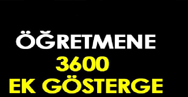 Öğretmenlere 3600 Ek Gösterge Sözü Unutuldu
