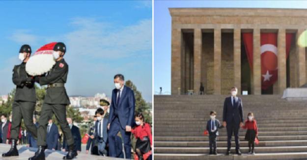 Bakan Ziya Selçuk'tan 23 Nisan'a Özel Çocuklarla Birlikte Anıtkabir Ziyareti