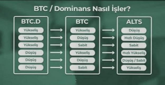 Bitcoin Dominans Nasıl İşler? Bitcoin Dominance Ne Demektir