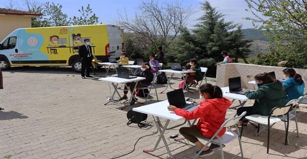EBA Destek Noktaları Sayesinde, Öğrencilere Etüt Hizmeti