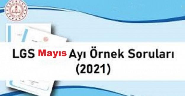 LGS 2021 MAYIS AYI ÖRNEK SORU KİTAPÇIĞI