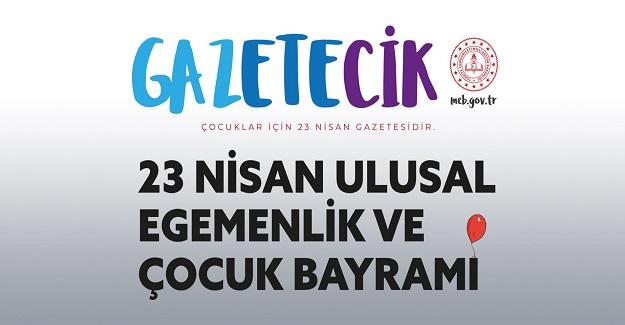 MEB 23 Nisan'a Özel Gazete Çıkardı