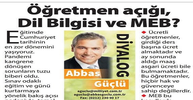 Türkiye'de Ücretli Öğretmen Sayısı 69 Bin 326'dır