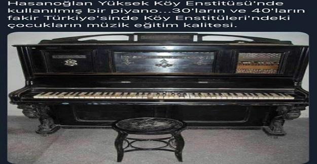 30'lu ve 40'lı Yılların Fakir Türkiye'sinde Okulların Müzik Eğitim Kalitesi