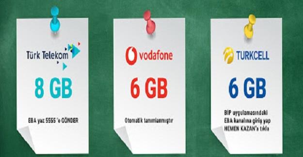 8 GB Bedava İnternet Canlı Derste Kullanılıyor Mu ?